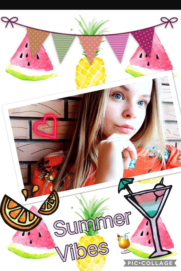 Messing around with pic collage!! Go download it in the app store! Make any pic 50 times better! Add stickers, quotes and doodles!! But best of all... Its free!!!