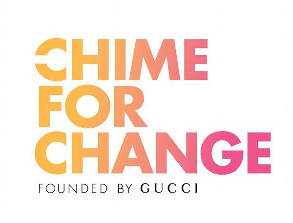 #ChimeForChange: la nuova campagna globale fondata da Gucci per il miglioramento di istruzione, salute e giustizia per le donne e le bambine di tutto il mondo.