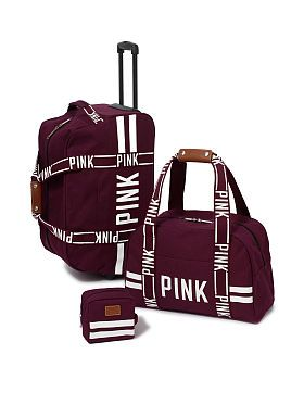 Victoria's Secret Pink 3-piece Travel Set - Wild Rose | $148