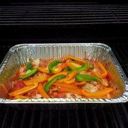 Campfire Chicken Fajita's Recipe - Allrecipes.com