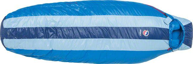 Big Agnes, Inc. Fish Hawk 30F Sleeping Bag: 650-fill DownTek, Blue Stripe, Regular, 2016