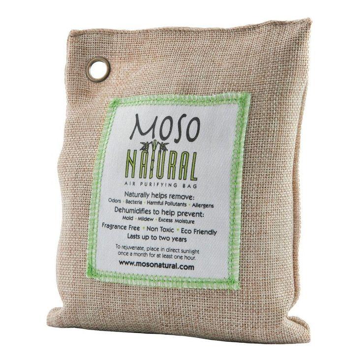 Moso Air Purifying Bag for Car & Closet 200g (Natural