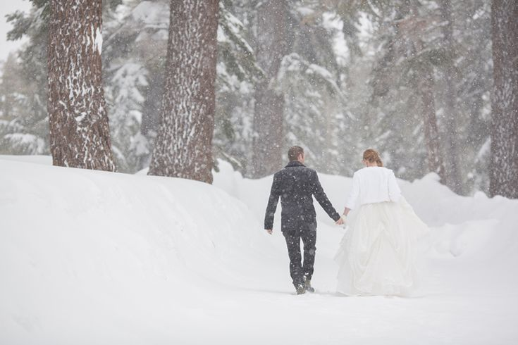 mammoth real wedding