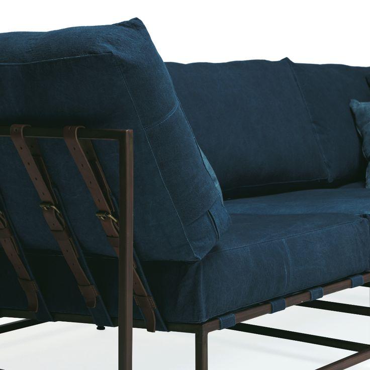 Stephen Kenn x Simon Miller Indigo Sofa | TRNK