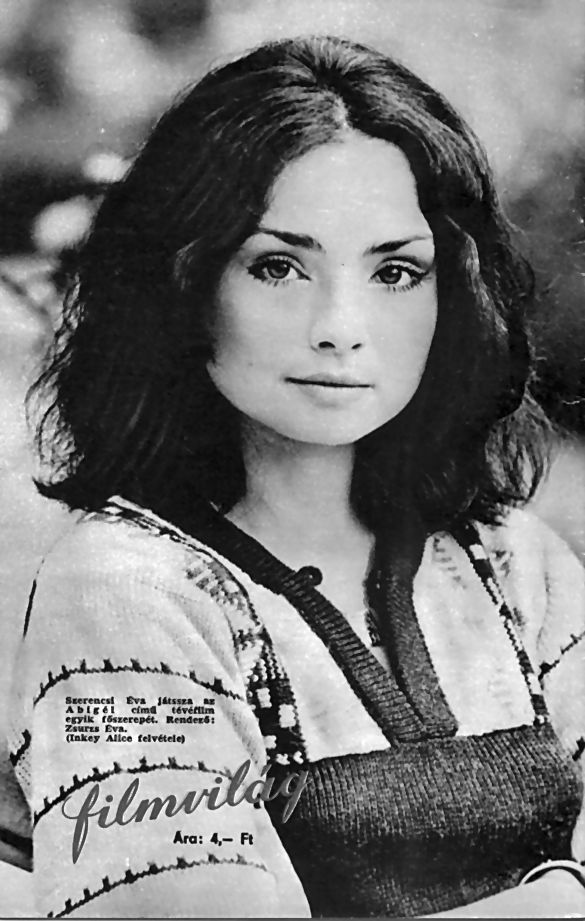 Szerencsi Éva / 1952. május 5-én született, Budapesten, 2004. szeptember 6-án halt meg, rákban. '74-ben szerzett diplomát a Színház- és Filmművészeti Főiskolán. Dolgozott a bpi József Attila és a Miskolci Nemzeti Színháznál is. Leghíresebb szerepe talán a Szabó Magda regényéből megfilmesített Abigélben volt, ahol Vitay Georginát alakította.