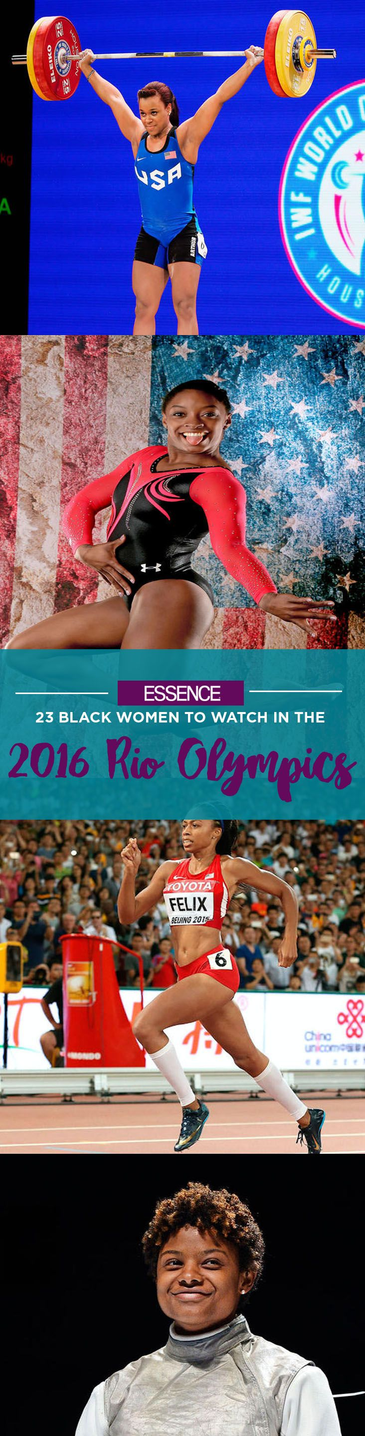 As Team USA heads to the Rio games, Black female athletes are ready to dominate their sports. Many will break records, create memorable moments or simply inspire. We've selected some of the most extraordinary women, both American and from abroad, who are already doing just that. #BlackGirlMagic