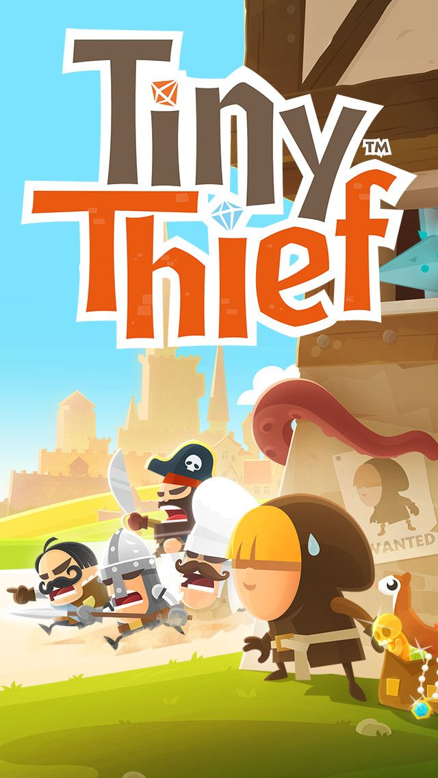 """""""BEST GAME EVER!! It's got some of the best sounds of any game. The way the game works and how fluid it is keeps me playing. Beautiful graphics and great levels. Not to easy not too hard. Incredibly fun!!!"""" Tiny Thief. The #game throws some seriously mind-boggling #puzzles at you, with tons of surprising interactive gameplay elements along the way. So get ready to embark on an epic quest to save a princess and kingdom in peril!"""