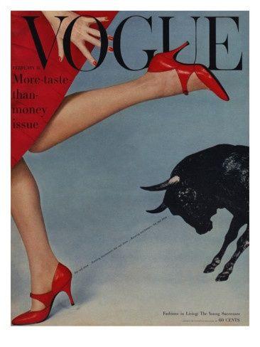 February, 1958. Photo: John Rawlings.