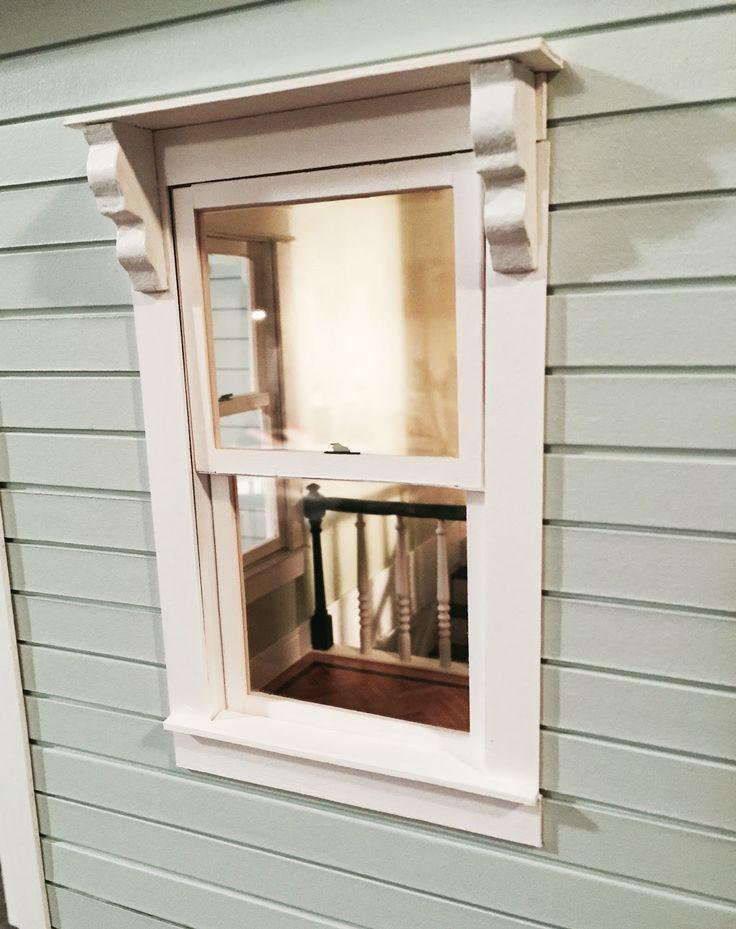 115 best images about tutorials miniature construction for Best new construction windows