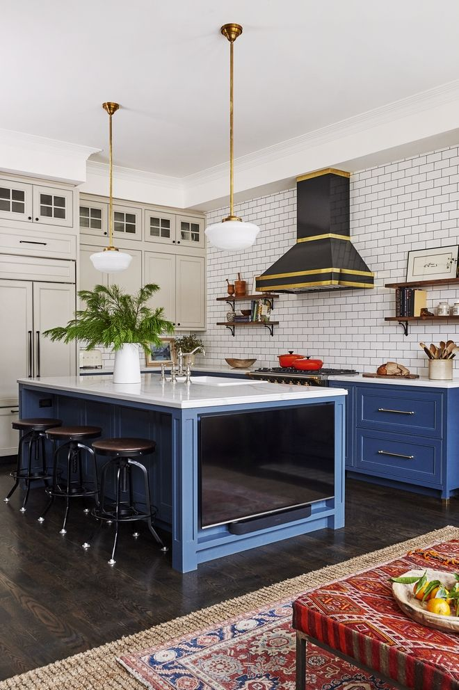 Navy Blue Kitchen Design Home Bunch Interior Design Ideas Kitchen Design Blue Kitchen Decor Blue Kitchen Designs