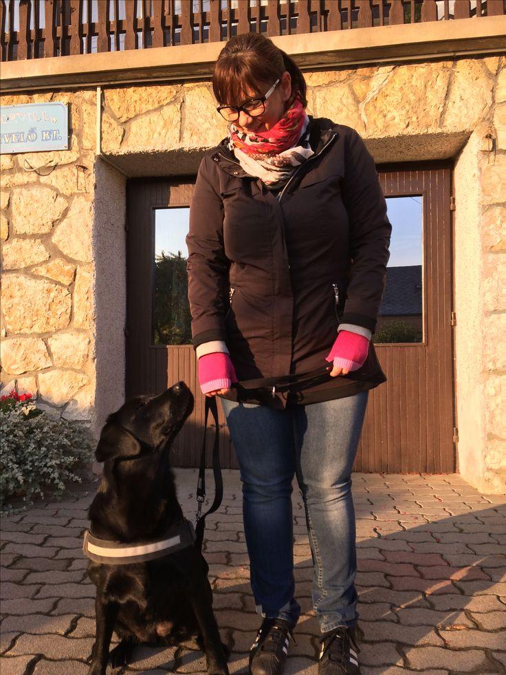 I love my black labrador ❤️