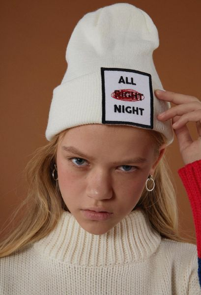 """""""ALL RIGHT? """"ALL NIGHT"""" #text#slogan#play"""