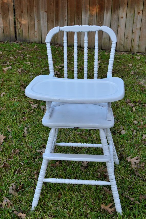 Jenny Lind High Chair Pick Your Color By Steelypiedesigns