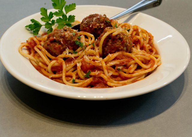 Spaghetti and Meatballs | Food | Pinterest