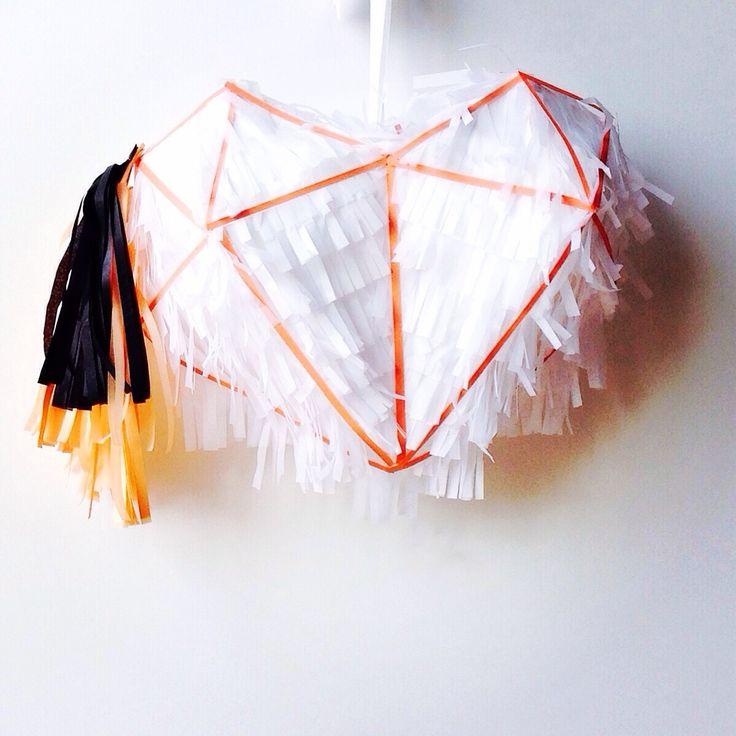 Himmeli Piñatizado! Piñata inspirada en los Himmeli de @handmadesammade