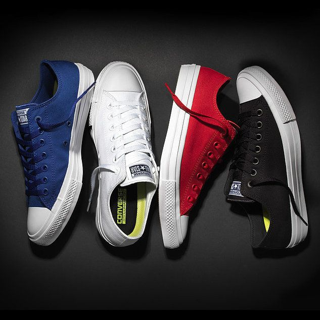 Converse Is Coming Out With Its First New Sneaker in 98 Years: If you're in the market for a new pair of kicks, you'll probably want to hold off a bit longer: Converse is coming out with a brand-new design, the Chuck Taylor II, and it hits stores as soon as next Tuesday, July 28.