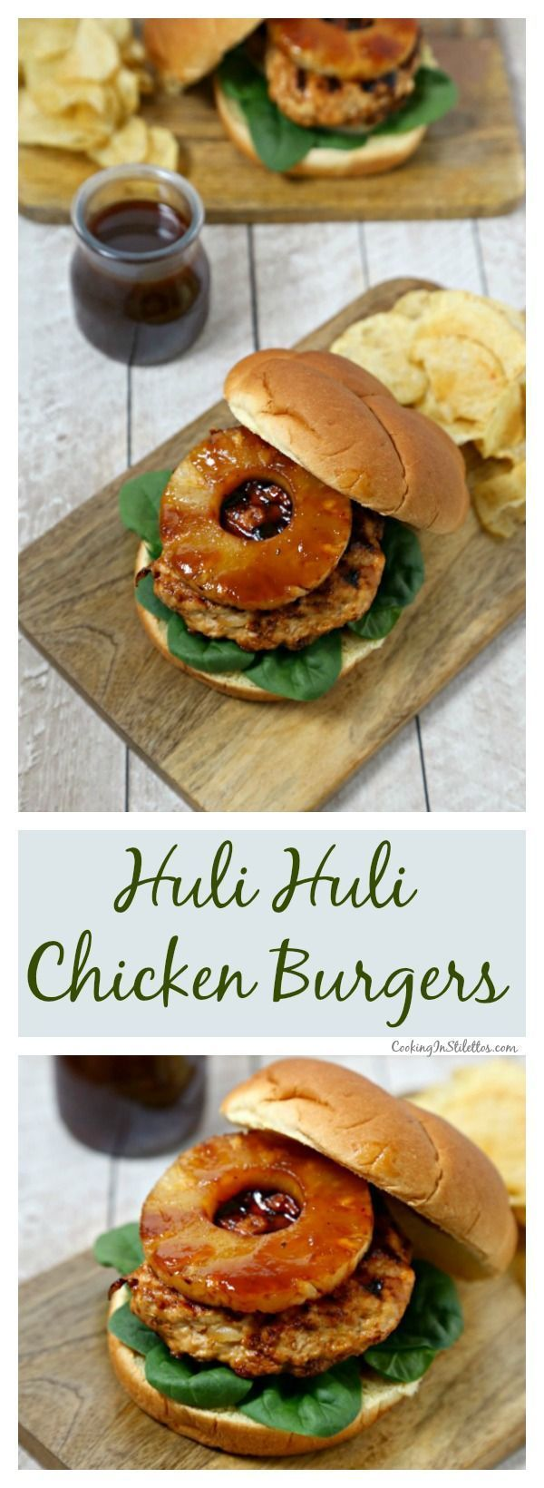 For an island twist, make these delicious Huli Huli Chicken Burgers from http://CookingInStilettos.com for your next cookout. Ground chicken is grilled with a sweetly spicy huli huli sauce and nestled in Pepperidge Farm Farmhouse Hearty Rustic Potato Buns with