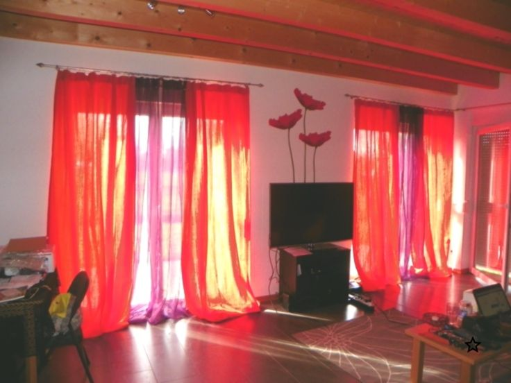 Orange And Purple Curtains To Go With The Orange Purple And Red Living Room Of Purple Curtains Red Living Curtains To Go #plum #living #room #curtains