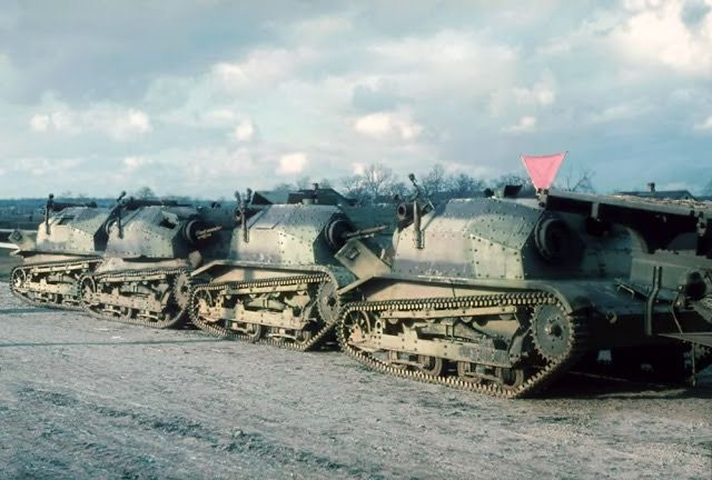 Tanks captured after the fall of France in 1940