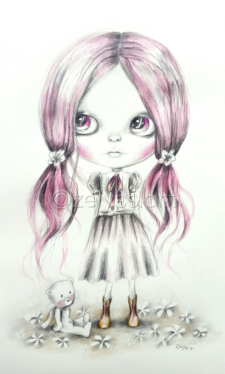 Image of ZELYSS originals: 'Me and my little friend'