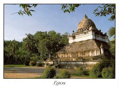"""LAOS (Louangphrabang) - That Pathoun - part of """"Town of Luang Prabang"""" (UNESCO WHS)"""