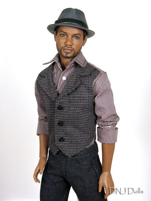 I need more Men of Color in my collection. OOAK Ken doll repaint | DNJ_Dolls