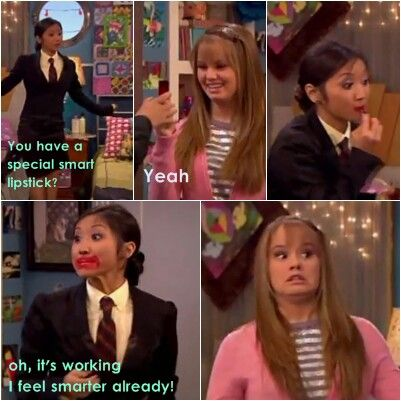 Disney the suite life on deck starring debby ryan as bailey and brenda song as london ☆ There is just no easy way to become smart is there.. It's all about passion and will power