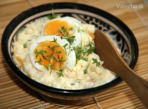 Vajíčkovo-tvarohová pomazánka -veľmi chutná