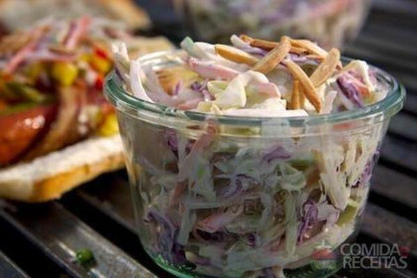 Receita de Salada de brócolis e funcho em receitas de saladas, veja essa e outras receitas aqui!