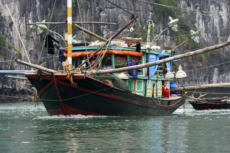Fishing Boat - Vietnam #inkognito_as