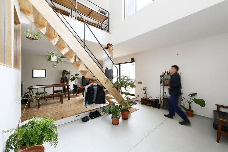 WOOD&GREEN が映える白い家。 – D'S STYLE(ディーズスタイル)