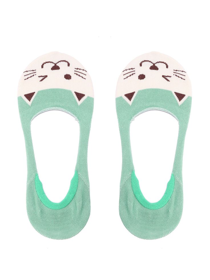 Shop Cat Print Color Block Invisible Socks online. SheIn offers Cat Print Color Block Invisible Socks & more to fit your fashionable needs.