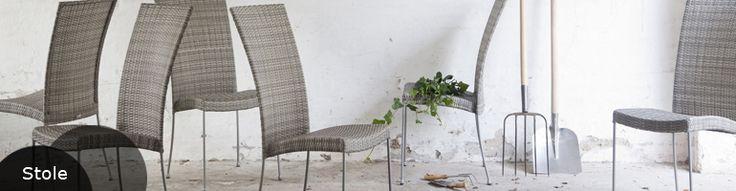 Smukke rattanstole fra Sika Design. Dansk møbeldesign i høj kvalitet.