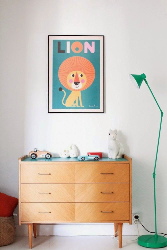 Love this blue green colour palette for a kids room, works for a boy's room or girl's room equally well - or a shared space!