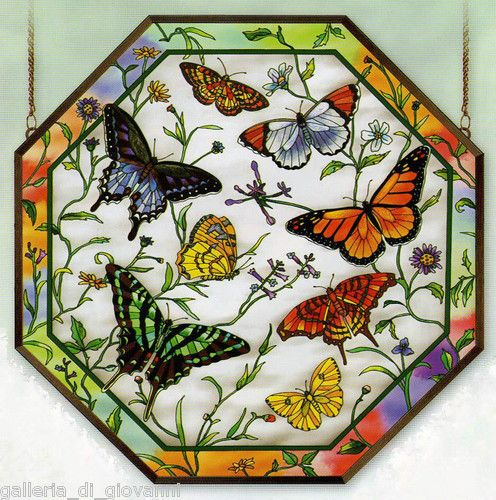 79 best images about stained glass on pinterest glass for Butterfly stained glass craft
