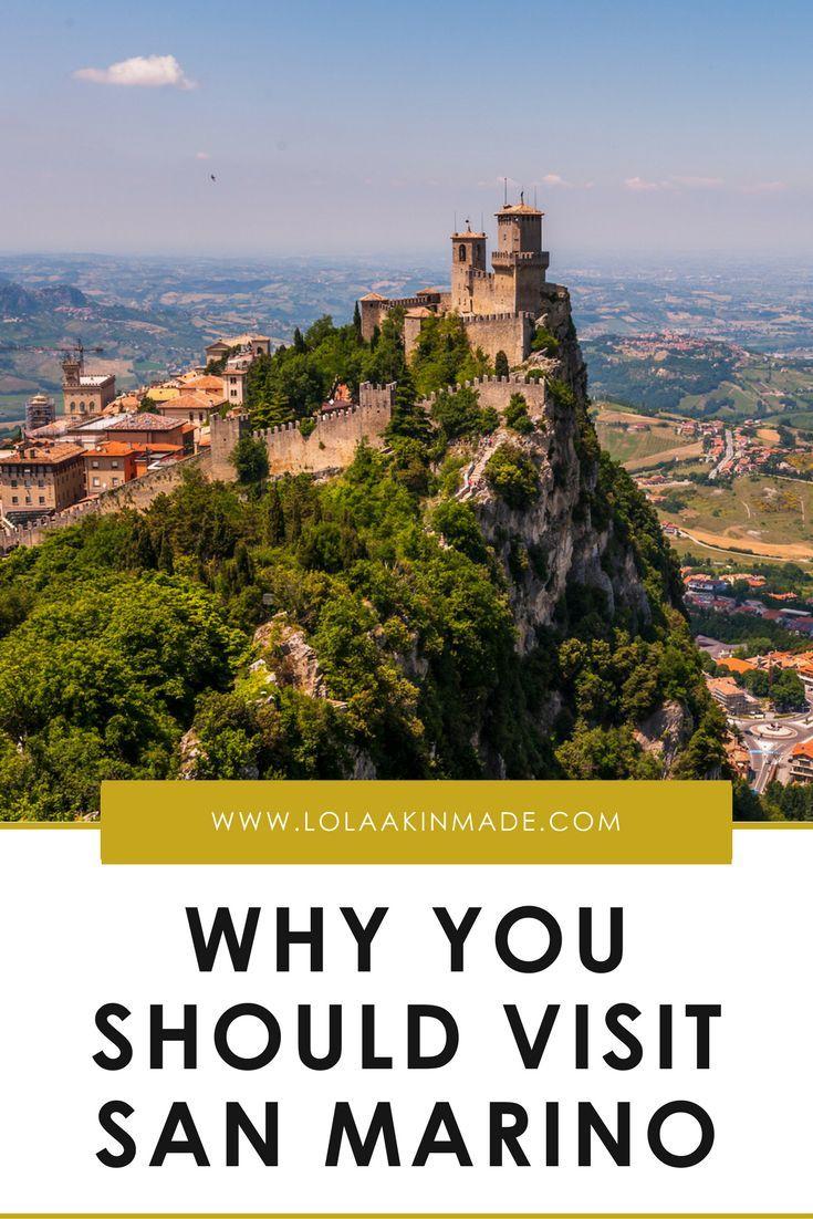 San Marino: attractions. Euro-trip 91