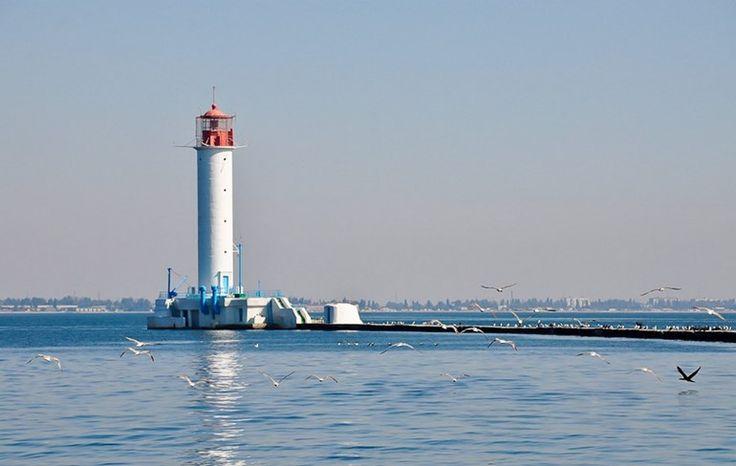 Воронцовский маяк в Одессе: романтика!