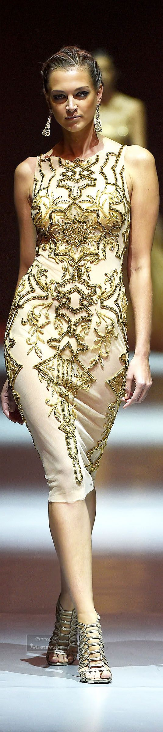 Cocktail dress: Dany Tabet Spring-summer 2015.