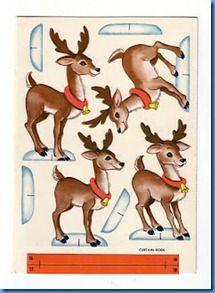 Reindeer printable
