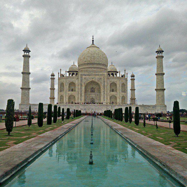 Simetría pura Taj Mahal by ejasdf #TajMahal #IncredibleIndia #Agra