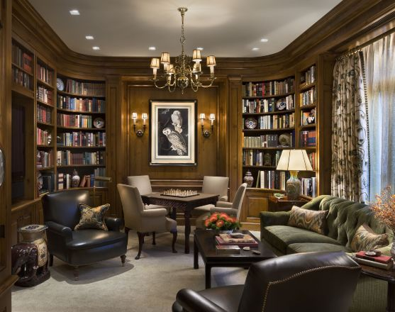 LIBRARY – home office and den. Robert A.M. Stern Architects in ...