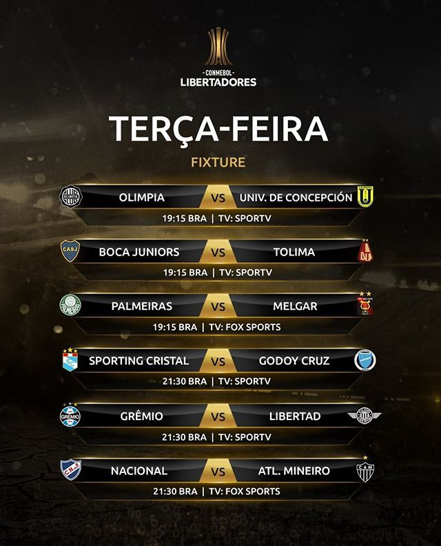 Jogos De Hoje Pela Libertadores Parceiros Futebaovivo Flavinha Futebol Clube Libertadores Futebol Internacional Riverplate Cruzeiro Emelec Olimpia