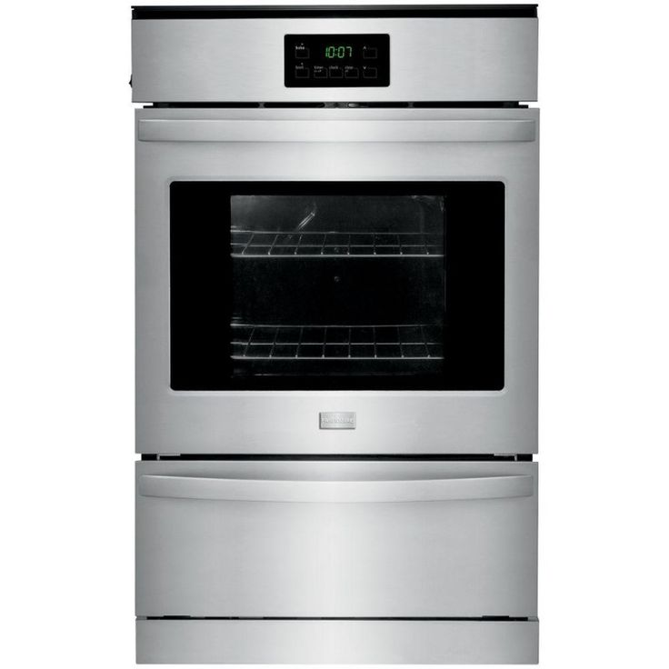 Frigidaire FFGW2415QS 24 in. Single Gas Wall Oven in Stainless Steel
