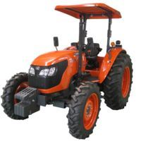 The Kubota M704 tractor is built in China by Kubota for sale in China. It features a 70 hp...