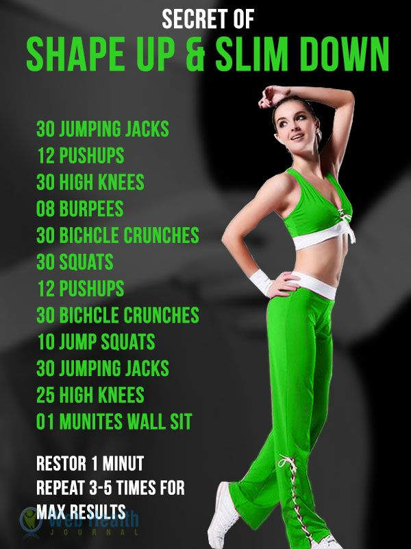 Secret of the shape and slim down. #ab_workouts