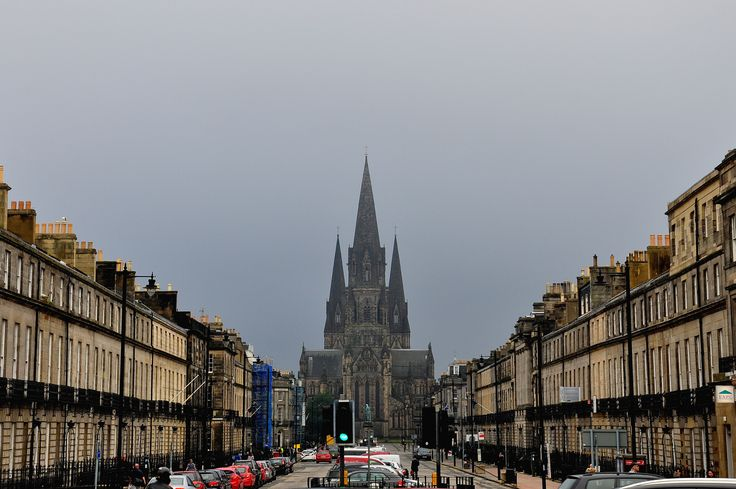#UK #Edinburgh #Scotland #architecture #history #fog
