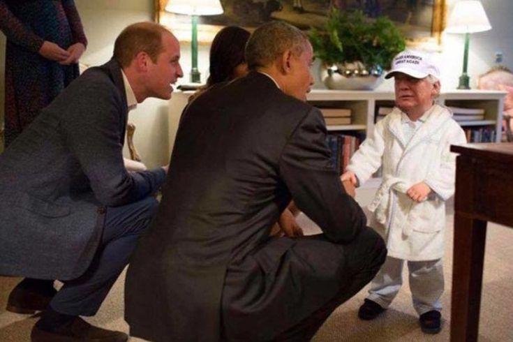 Funniest Donald Trump Memes: Tiny Prince