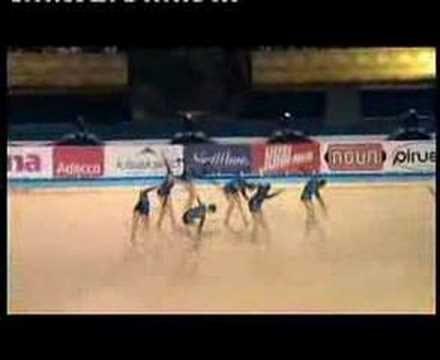 Olarin Voimistelijat Dynamot (2006), choreography made by Anton Laine