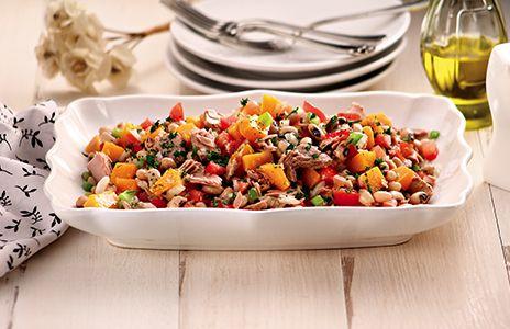 Salada de Feijão Fradinho e Atum Defumado - Gomes da Costa :: O melhor do mar para você
