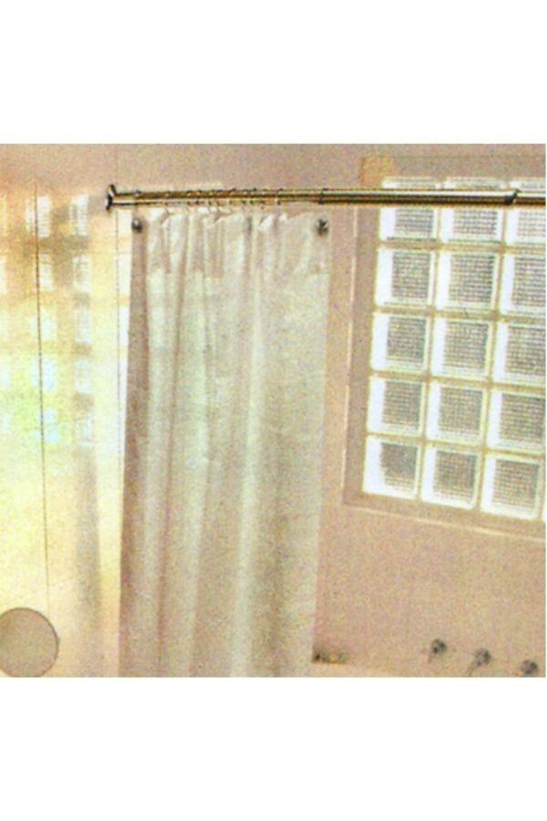 E103 Closet Rod Shower Curtain Rods Design